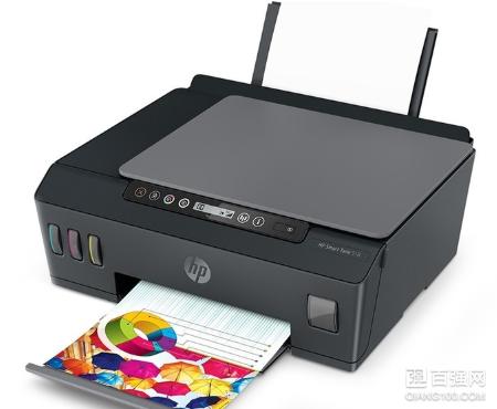 惠普Smart Tank 518惠彩连供打印一体机:支持微信打印