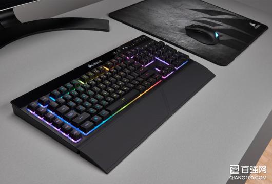 海盗船推出K57 RGB无线游戏键盘:延迟低、续航久