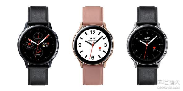三星发布新品 Galaxy Watch Active2 智能手表:支持LTE连接