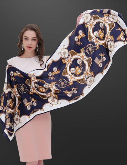 一米画纱真丝围巾好看吗?有哪些好看的款式?