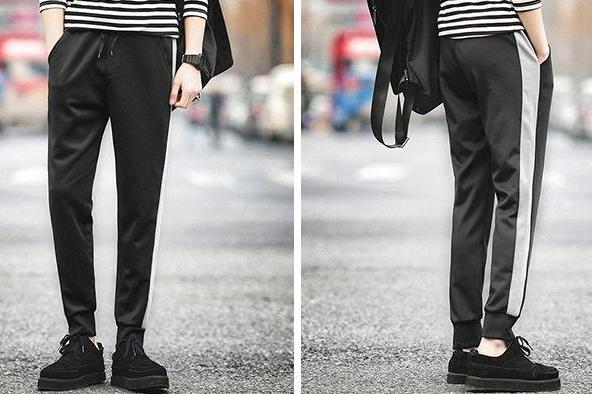 奢屯潮牌怎么样?奢屯条纹运动裤好搭配吗?
