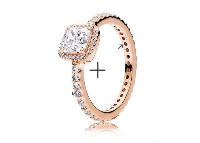 潘多拉小雏菊玫瑰金戒指多少钱?潘多拉戒指好吗?
