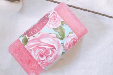 香皂品牌推荐?保加利亚玫瑰精油沐浴海绵皂怎么样?