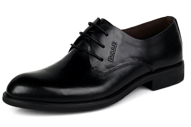 百丽单鞋推荐?百丽牛皮男单鞋如何?