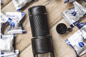 STARESSO 手动胶囊便携咖啡机怎么使用?可以打奶泡吗?
