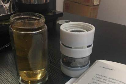 花间道茶水分离保温杯好用吗?材质如何?