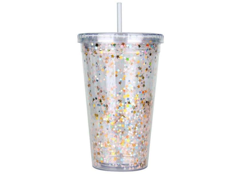星巴克吸管杯能装热水吗?价格是多少?