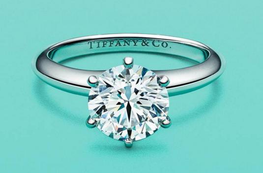蒂芙尼经典六爪钻戒图片?怎么选钻戒是最好的?