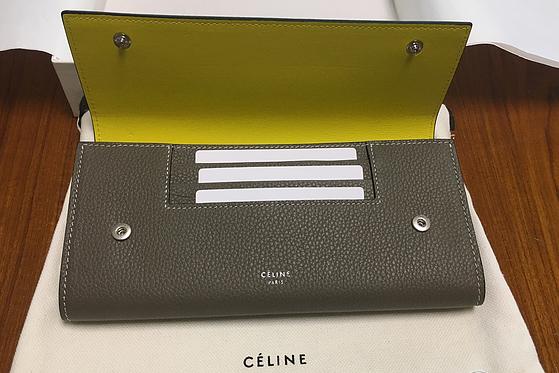 celine拼色钱包如何?谁能介绍一下?