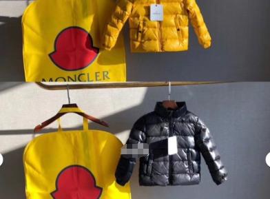 Moncler儿童羽绒服保暖吗?几个颜色?