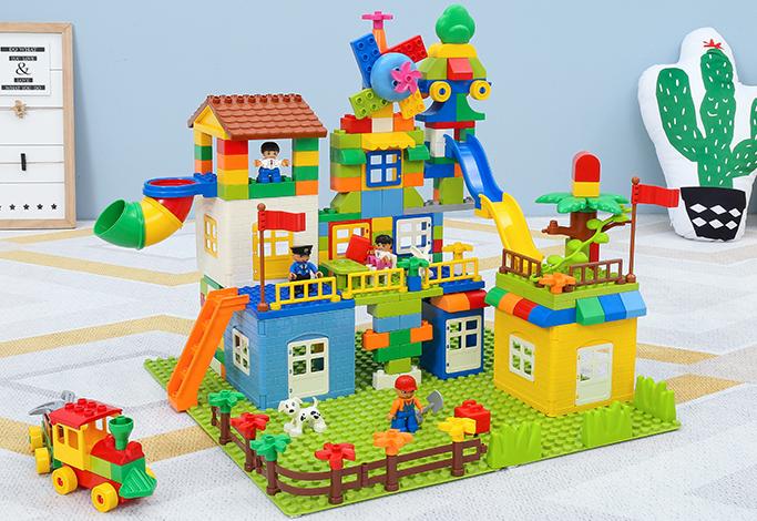 糖米的儿童积木玩具怎么样? 贵不贵