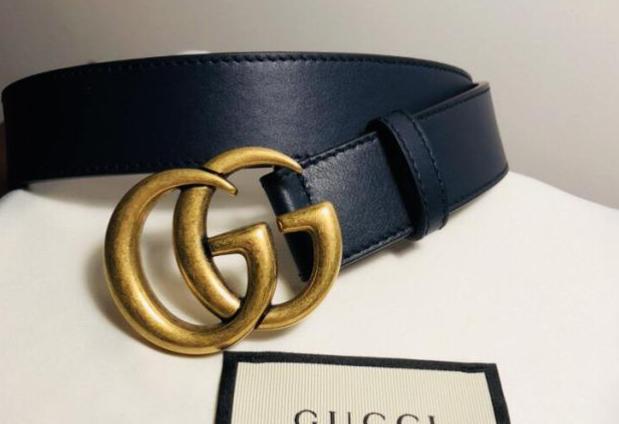 gucci双g皮带是真皮吗?有什么颜色的?