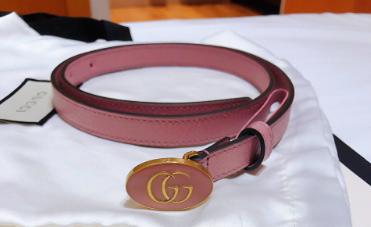 gucci粉色腰带如何?价格是多少?