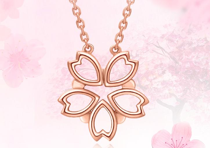日本周大福樱花多少钱?周大福樱花项链是什么材质?