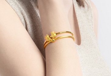 周生生转运珠手镯容易坏吗?周生生转运珠手镯可以穿珠子吗?