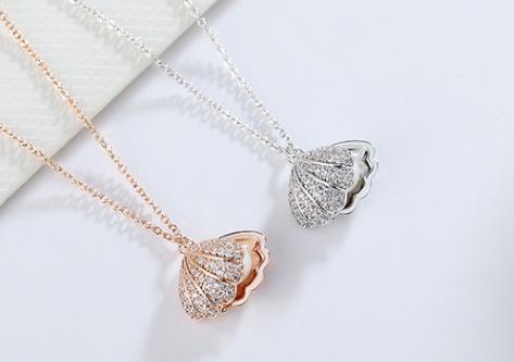 chomel项链是什么材质?chomel项链有珍珠的吗?