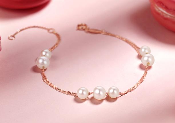周大福珍珠手链图片?周大福珍珠手链价格?