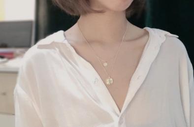新加坡的jewel项链如何?jewel女士项链是银质的吗?