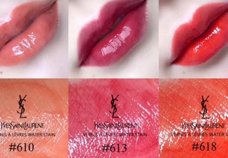 ysl染唇液和唇釉一样吗?有哪几个色号最好看?