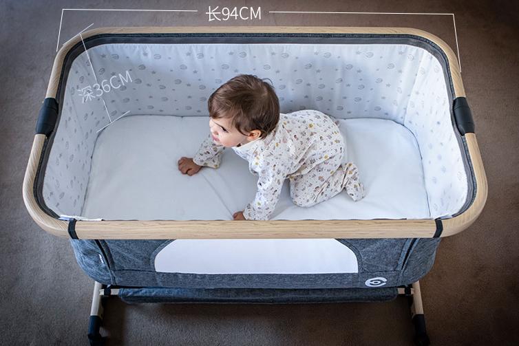 elittile婴儿床怎么样?elittile婴儿床可以移动吗?