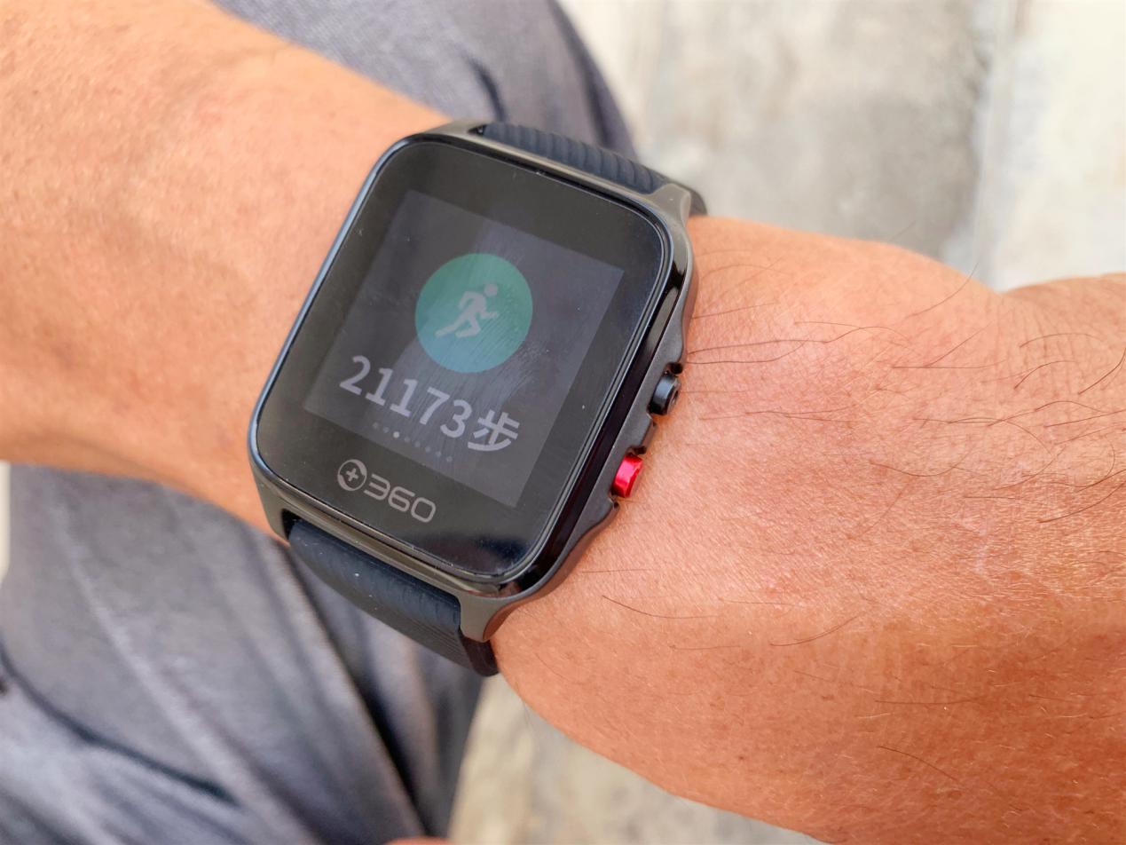 实时掌握老人的健康状况,解儿女的后顾之忧——360健康手表