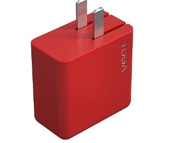 联想推出YOGA 65W电源适配器:折叠插脚设计