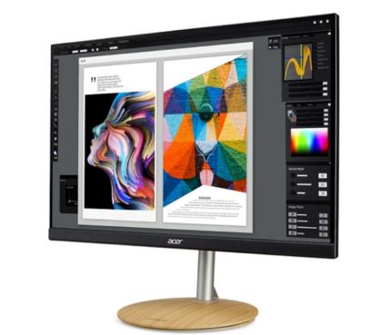 宏碁上架ConceptD显示器:采用了IPS面板