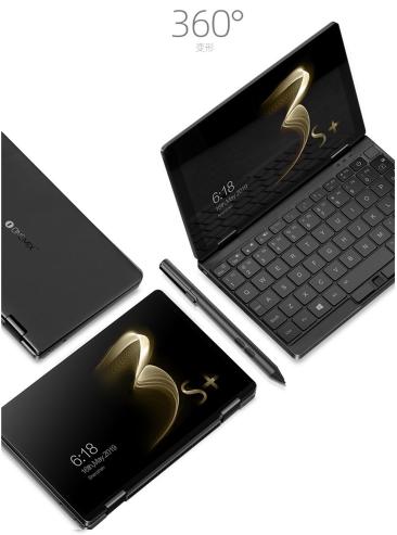 壹号本推出OneMix 3S+小电脑:采用Intel i3-10110Y处理器