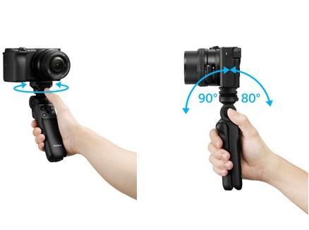 索尼首款无线蓝牙拍摄手柄GP-VPT2BT正式发布:可快速旋转调整