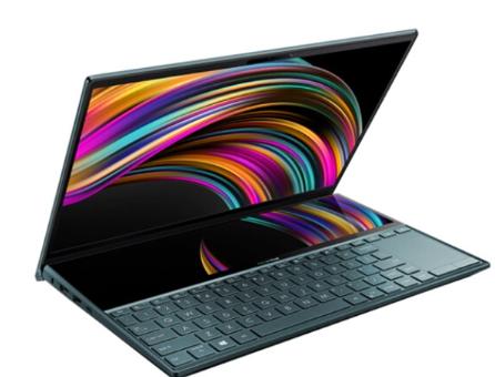 华硕推出灵耀X2 Duo笔记本i5版:配备第二块全屏ScreenPad Plus