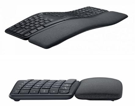 罗技推出Ergo K860人体工学键盘:独特波浪形设计