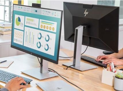 惠普推出新款显示器:USB-C接口丰富